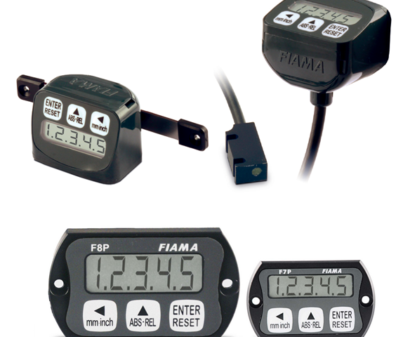 FIAMA F-Series battery-powered encoder/display