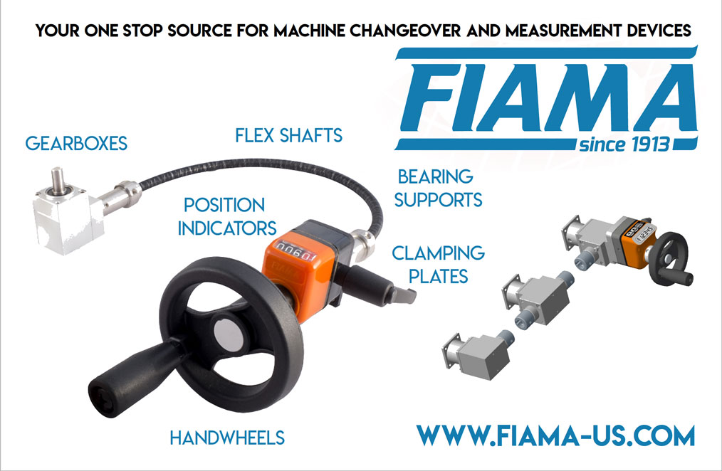 Fiama Position Indicators, Gearboxes, Handwheels, Flex Shafts, Clamping Plates and more