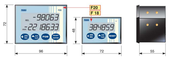 Battery Powered Position Indicator Product F18-20 FIAMA US
