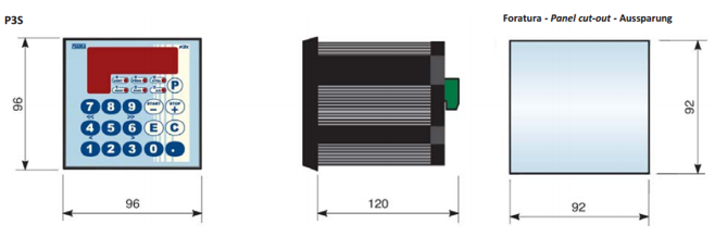 Positioning Units Servomotors Products P3S DIMENSIONS FIAMA US